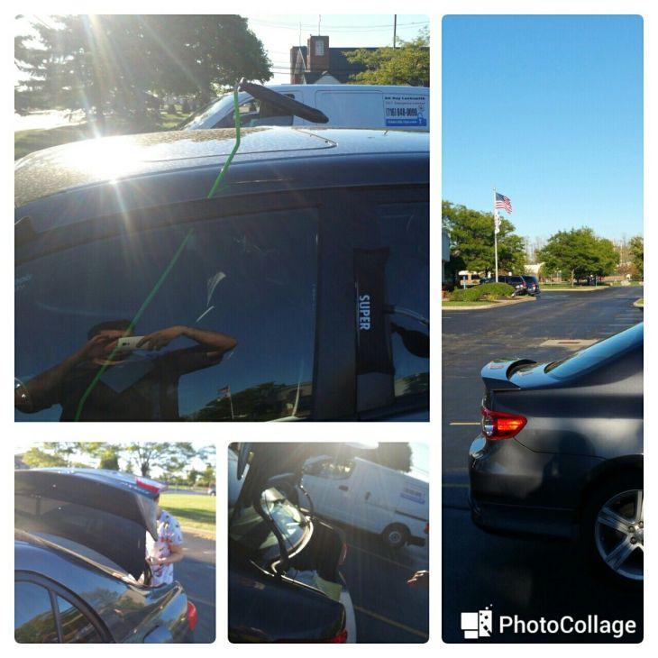 Toyota corolla car keys locked in the trunk locksmith