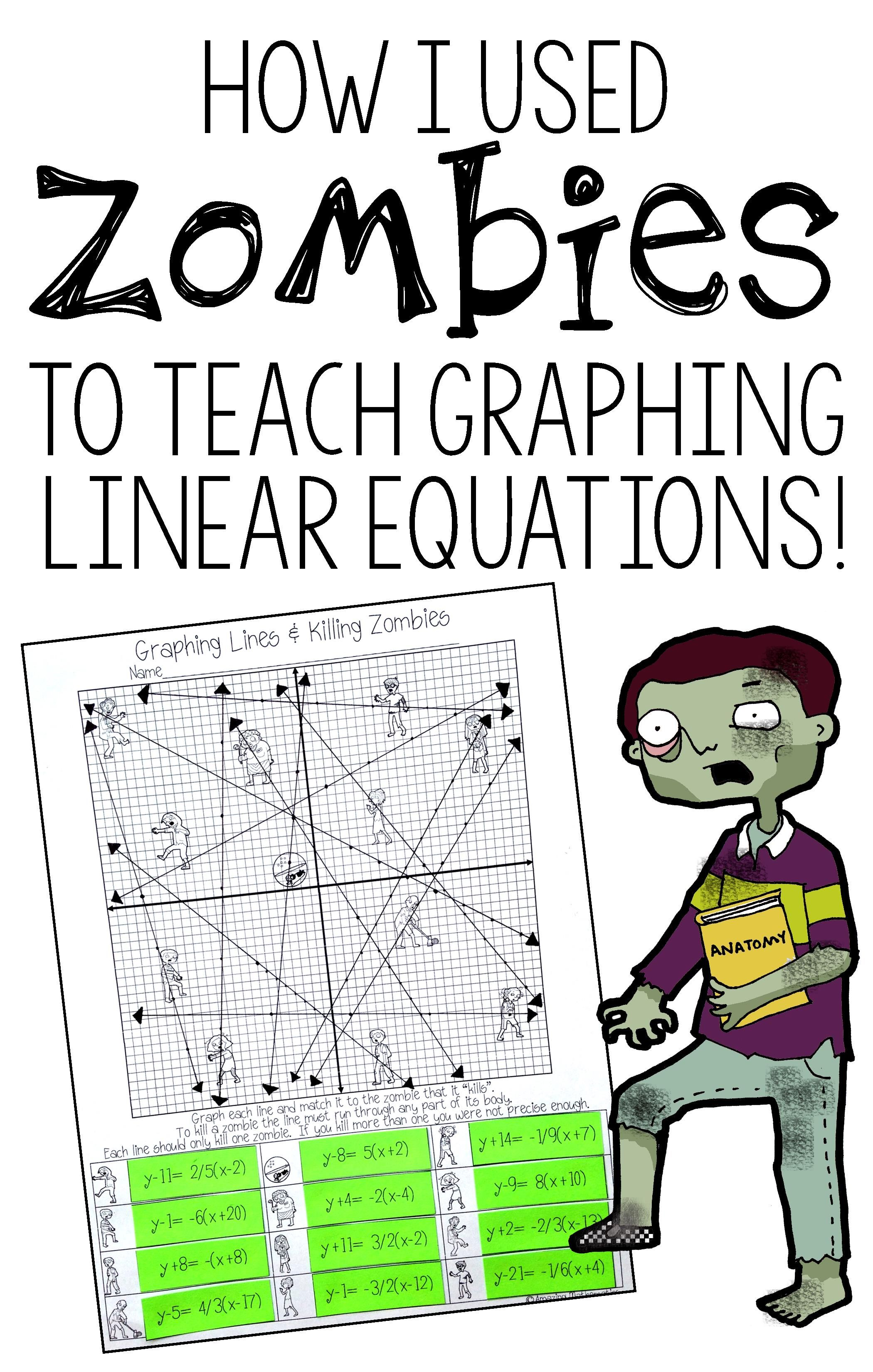This Is Such A Fun Activity To Practice Graphing Linear Equations I Love That There S A Slope