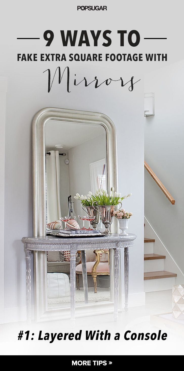 Ways to Fake Extra Square Footage With Mirrors  Flure