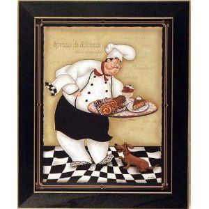 art prints italian chef kitchen and i love on kitchen decor paintings prints id=62585