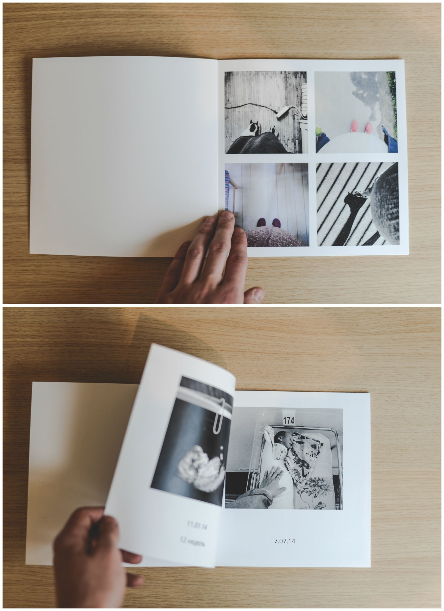 A Minimal Photo Book Layout For A Clean Aesthetic Look