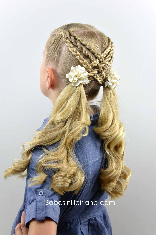 Woven Braids & Twists from BabesInHairland braids ponytails