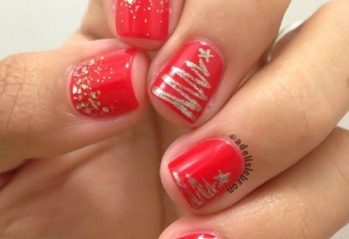 Christmas By Adelislebron Nail Nails Nailart Manicura D