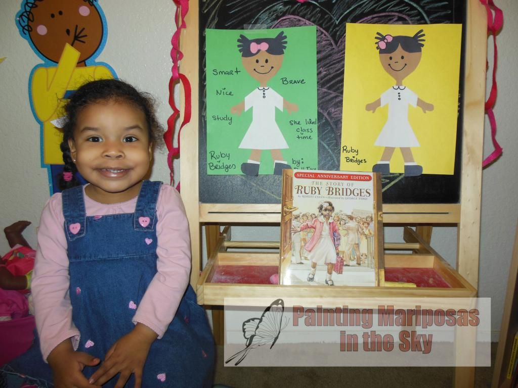 Black History Month Ruby Bridges Toddler Activity Educational
