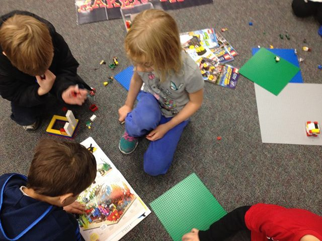 Makerspace In An Elementary School Library On A Fixed