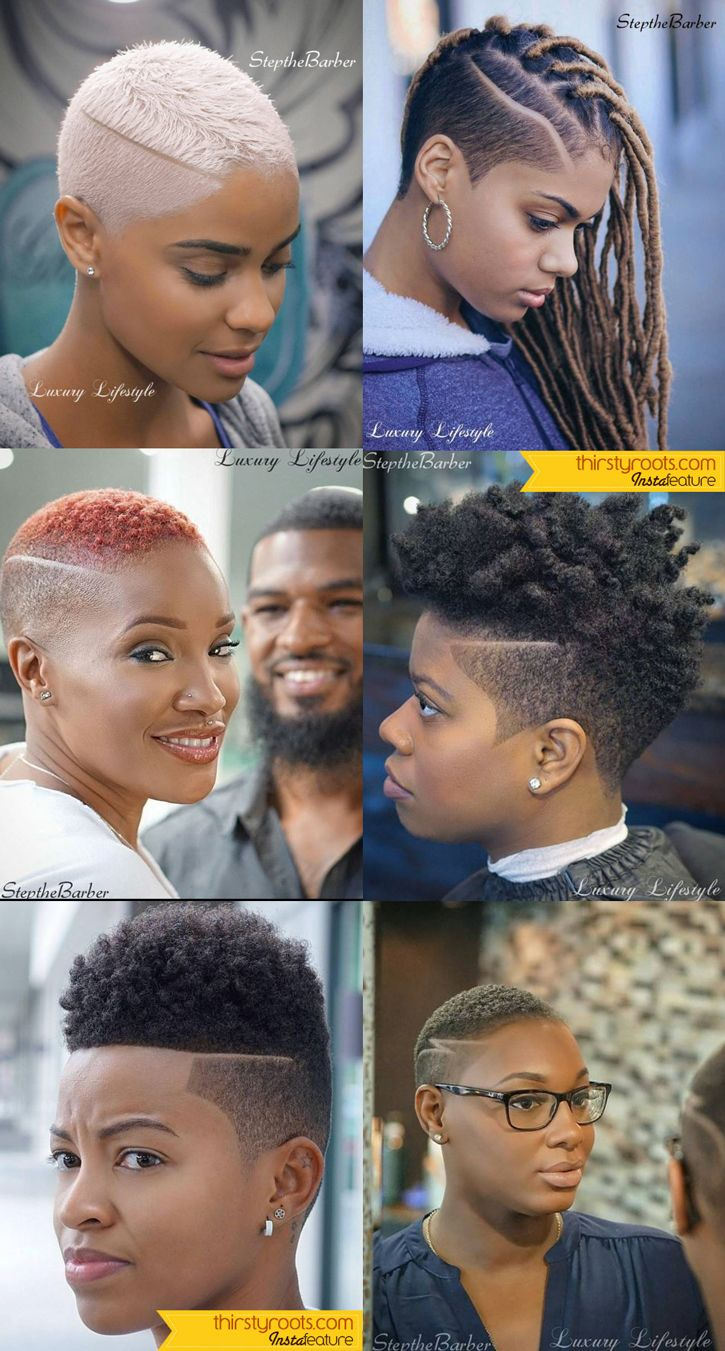 Fade Haircuts for Women by Step the Barber  Short fade haircut