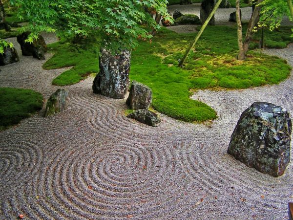 japanese small zen garden The Japanese rock garden or zen garden, creates a