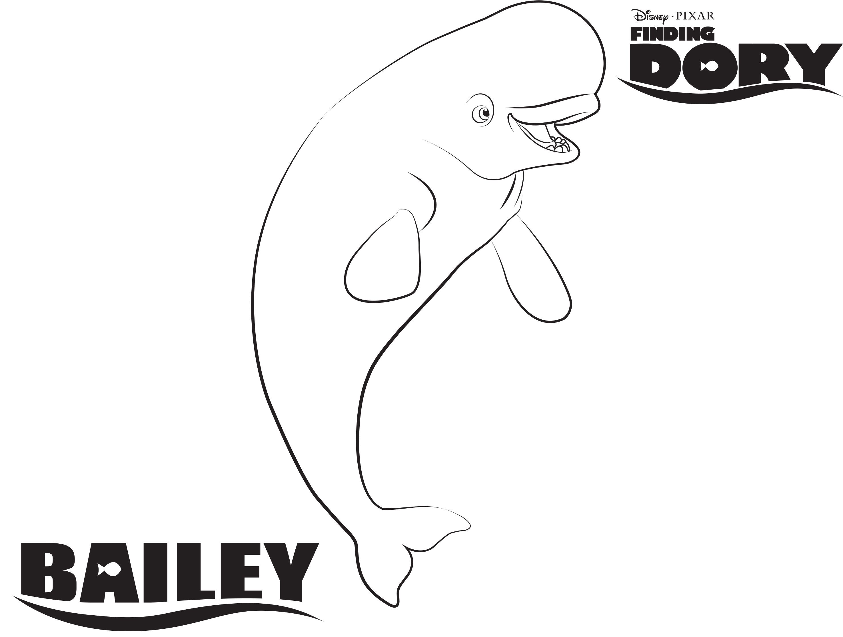 Disney S Finding Dory Coloring Pages Sheet Free Disney