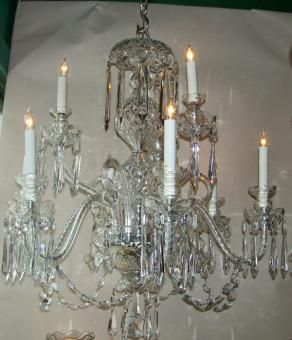 Signed Waterford Chandelier Called Anglo Irish Crystal Made Many Years Ago Awwwww