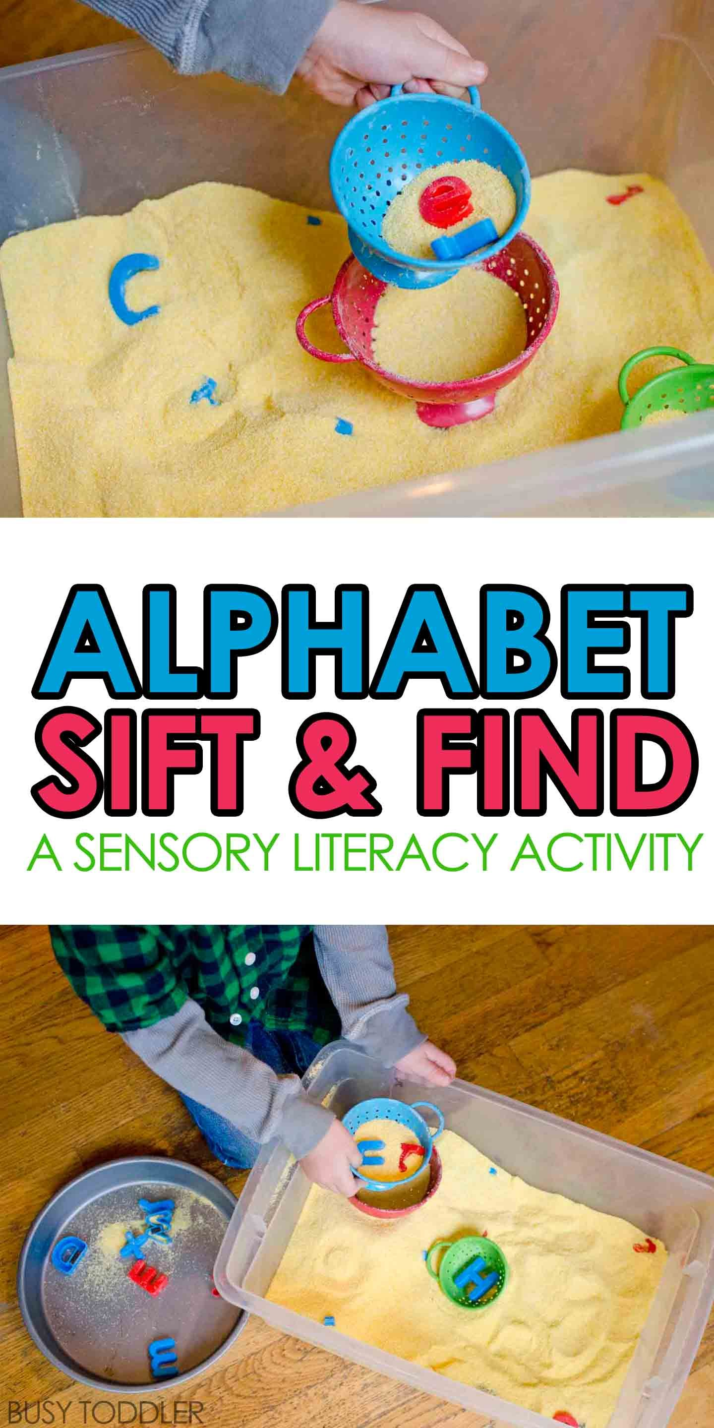 Alphabet Sift And Find