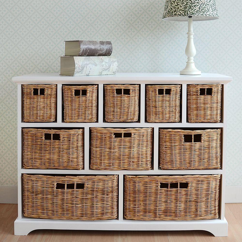 bedroom storage with baskets   design ideas 2017-2018   pinterest