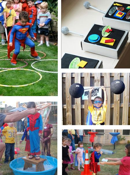 Activities for super hero party - Cause we like to ...