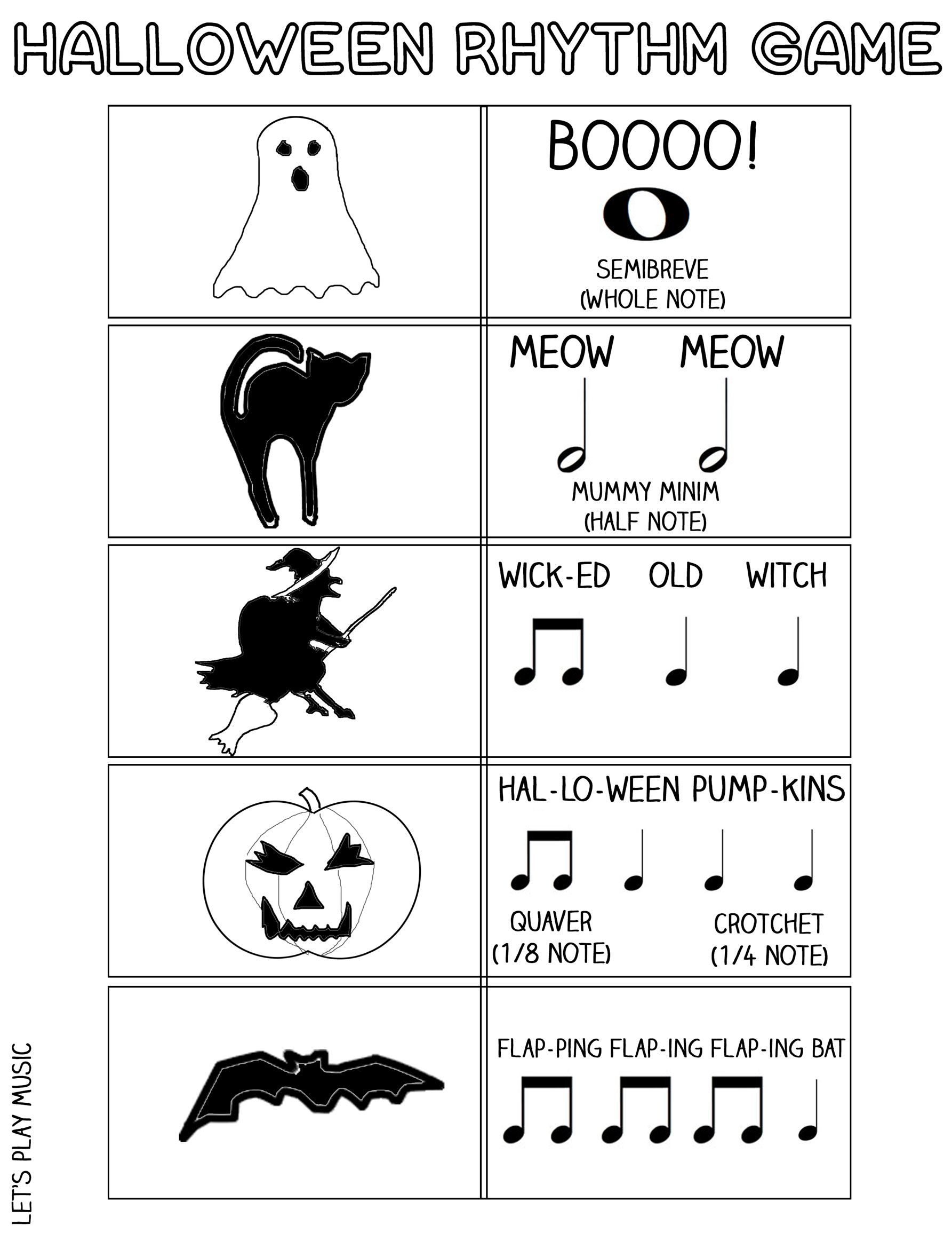 The Scary Witch Halloween Rhythm Game