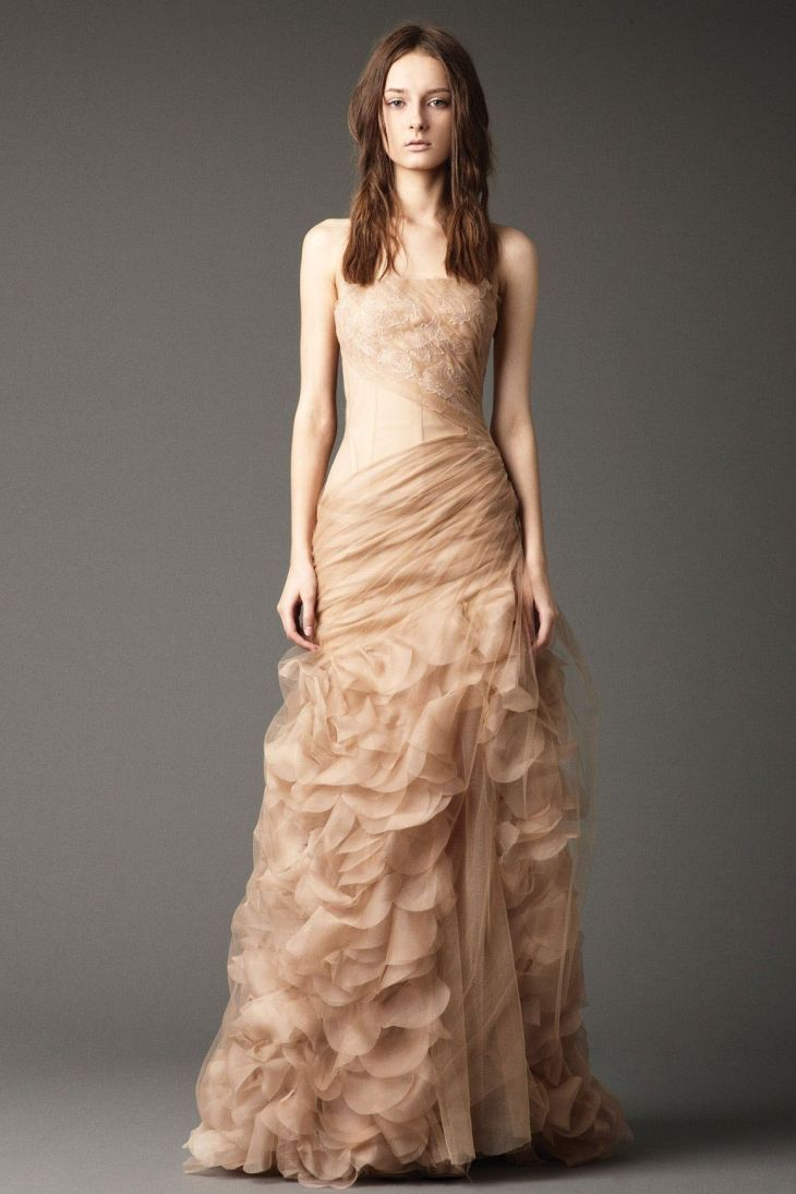 Reasonable Tulle Sleeveless SheathColumn Strapless Backless Floor