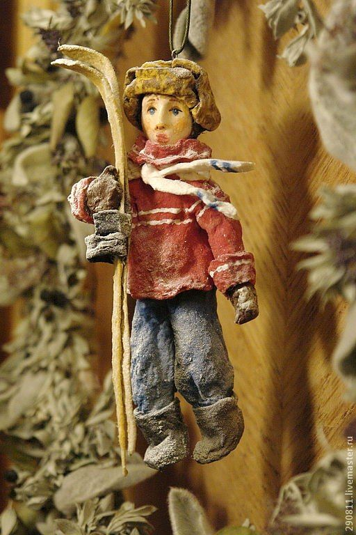 Н.Новосвитная, игрушки из ваты: | Игрушки, Куклы, Винтаж