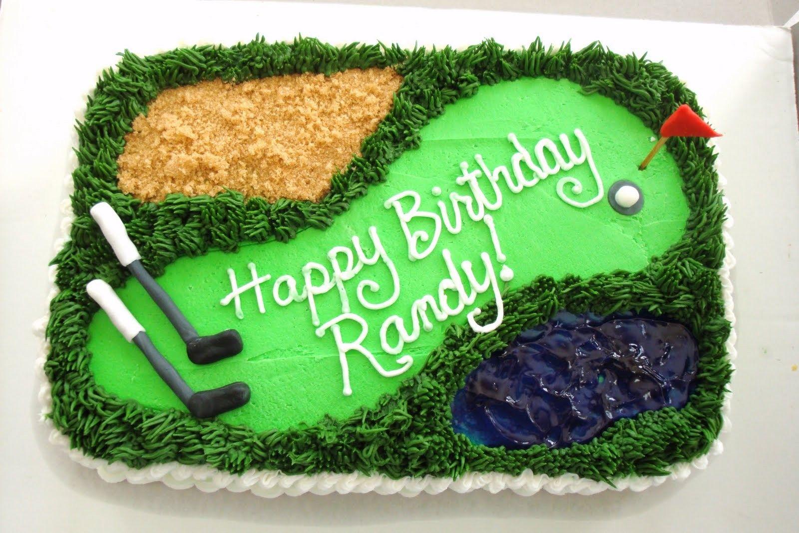 Golf Cake Easy Cakes