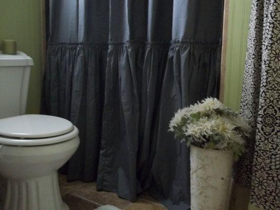 Best 25 Gray Shower Curtains Ideas On Pinterest Spa Like Living Room Ideas Garden Tub