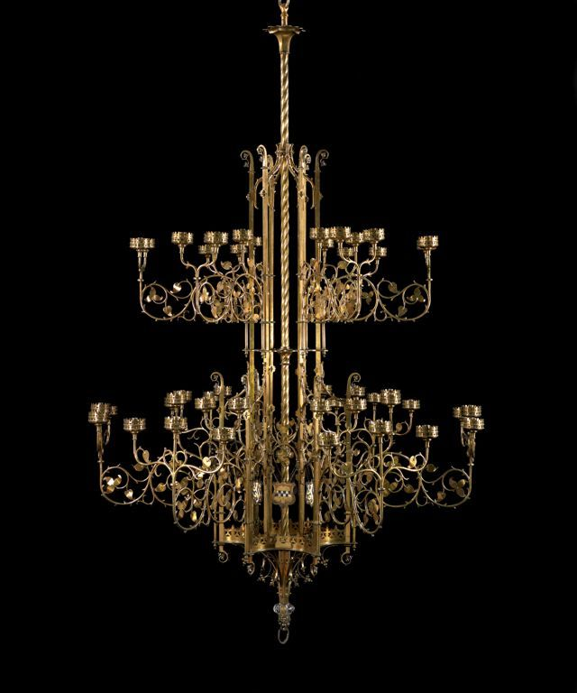 1852 British Chandelier At The Art Insute Of Chicago This Is An Absolutely