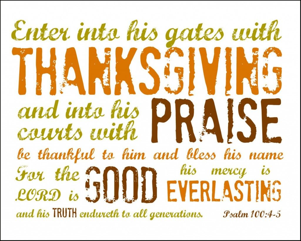 Free Printable To Include In Letter Psalm 100 4 5 Printable
