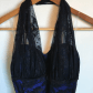 Blue dress covered in black lace blue dresses black laces and