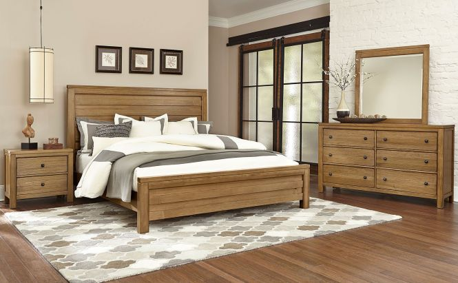 Want To Know What This Kismet Queen Panel Bed Maple Would Look Like In Your Home Visit Comfort Furniture Raleigh Or Cary Nc Today