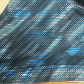 Marikautek sports bra med impact small blue patterned sports bra