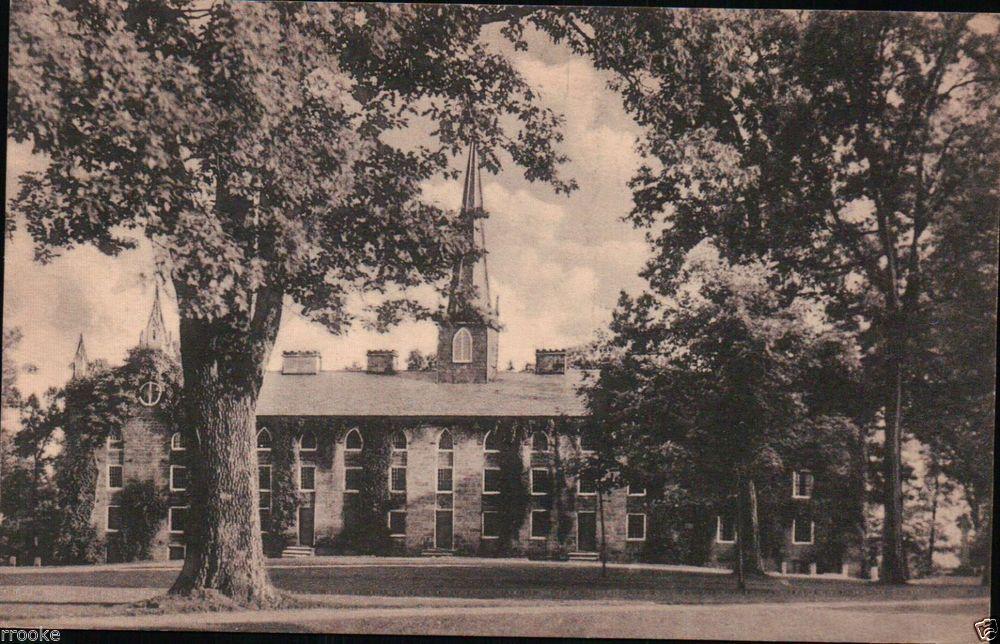 Old Kenyon Dormitory Kenyon College Gambier Ohio