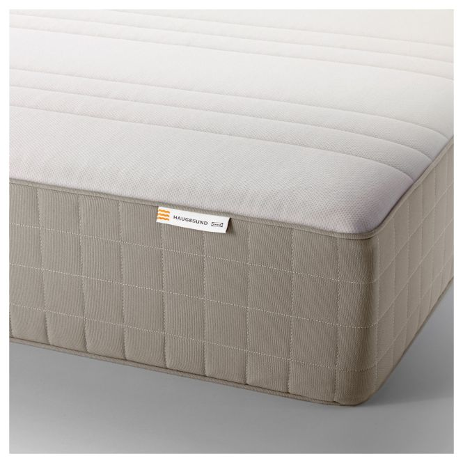 HaugsvÄr Spring Mattress Firm Dark Gray Diy Furniture And Room