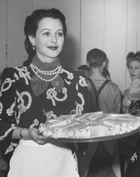 Image result for hedy lamarr at the hollywood canteen