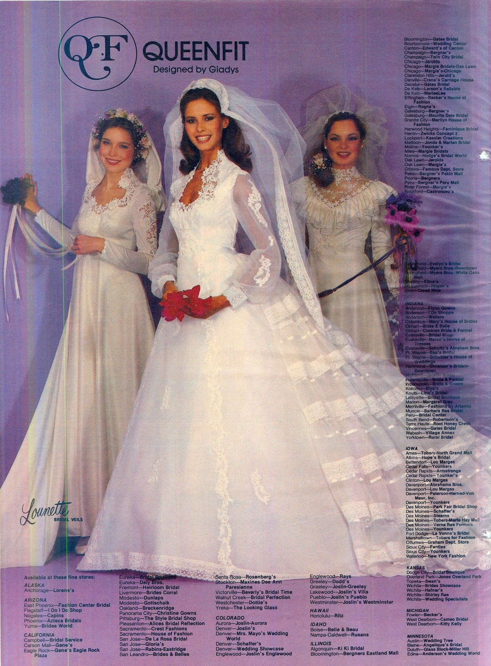 Pin by n loren on 80 S AND 90 S BRIDAL WEDDING FASHION