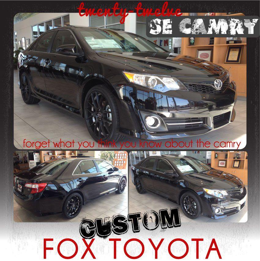 Custom toyota camry se love it dream car pinterest