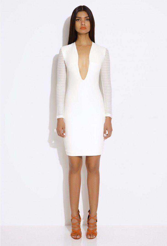 Belle Cream Long Sleeved Mini Dress Fashion Pinterest Long