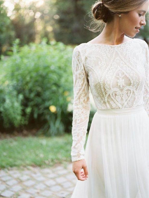 Beautiful wedding dress | itakeyou.co.uk #wedding #weddingdress #weddingdresses #weddinggown #beautifulgown