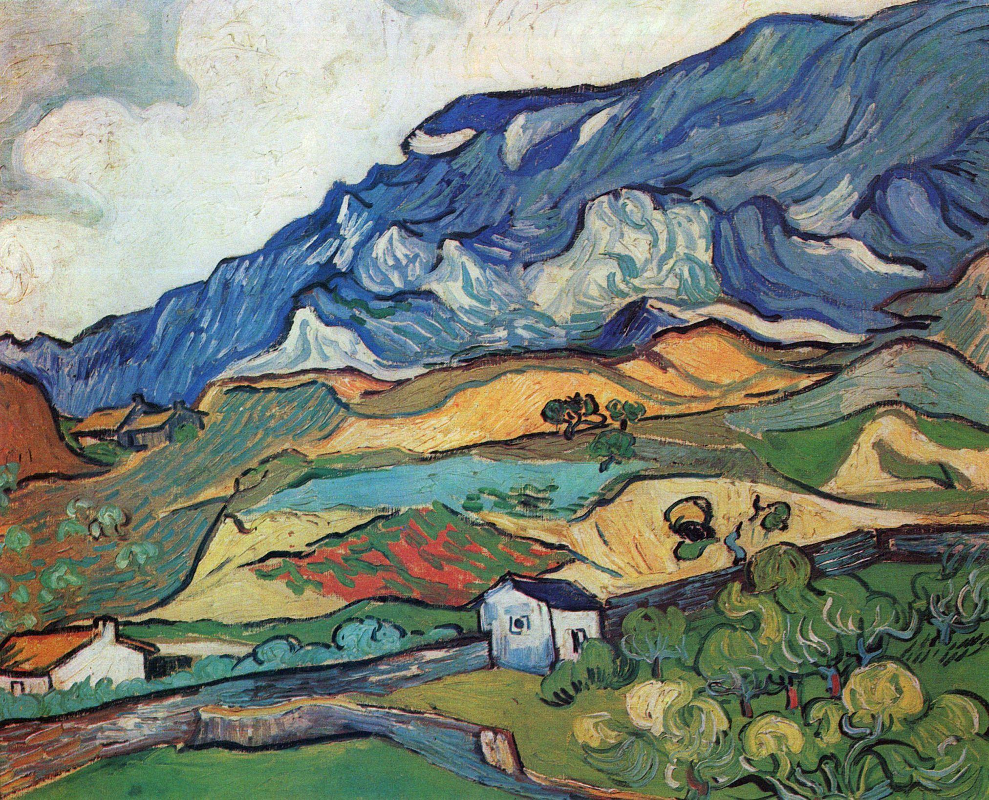 Les Alpilles Mountain Landscape