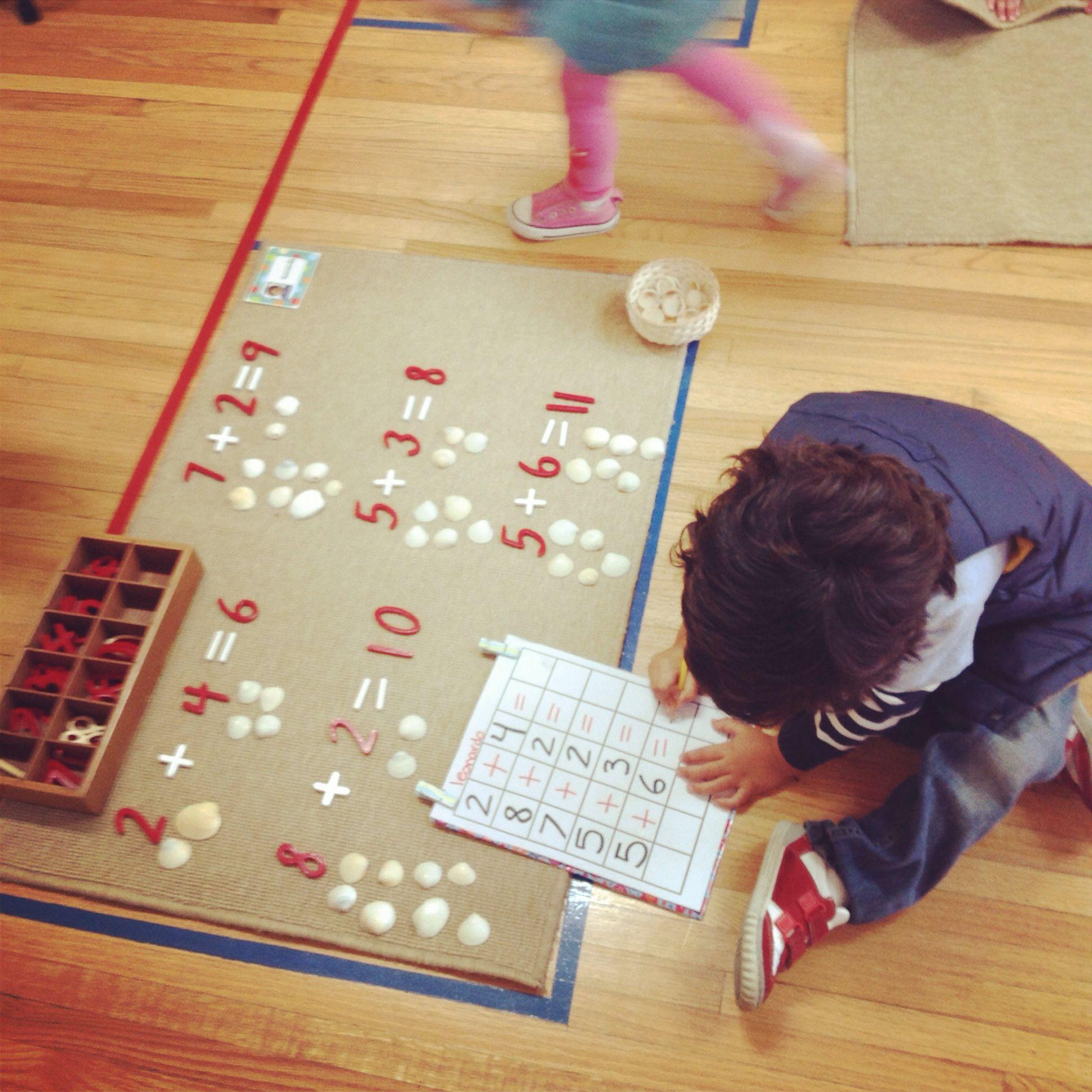 Montessori Math Exercises I Like The Pic N Name Of Kid