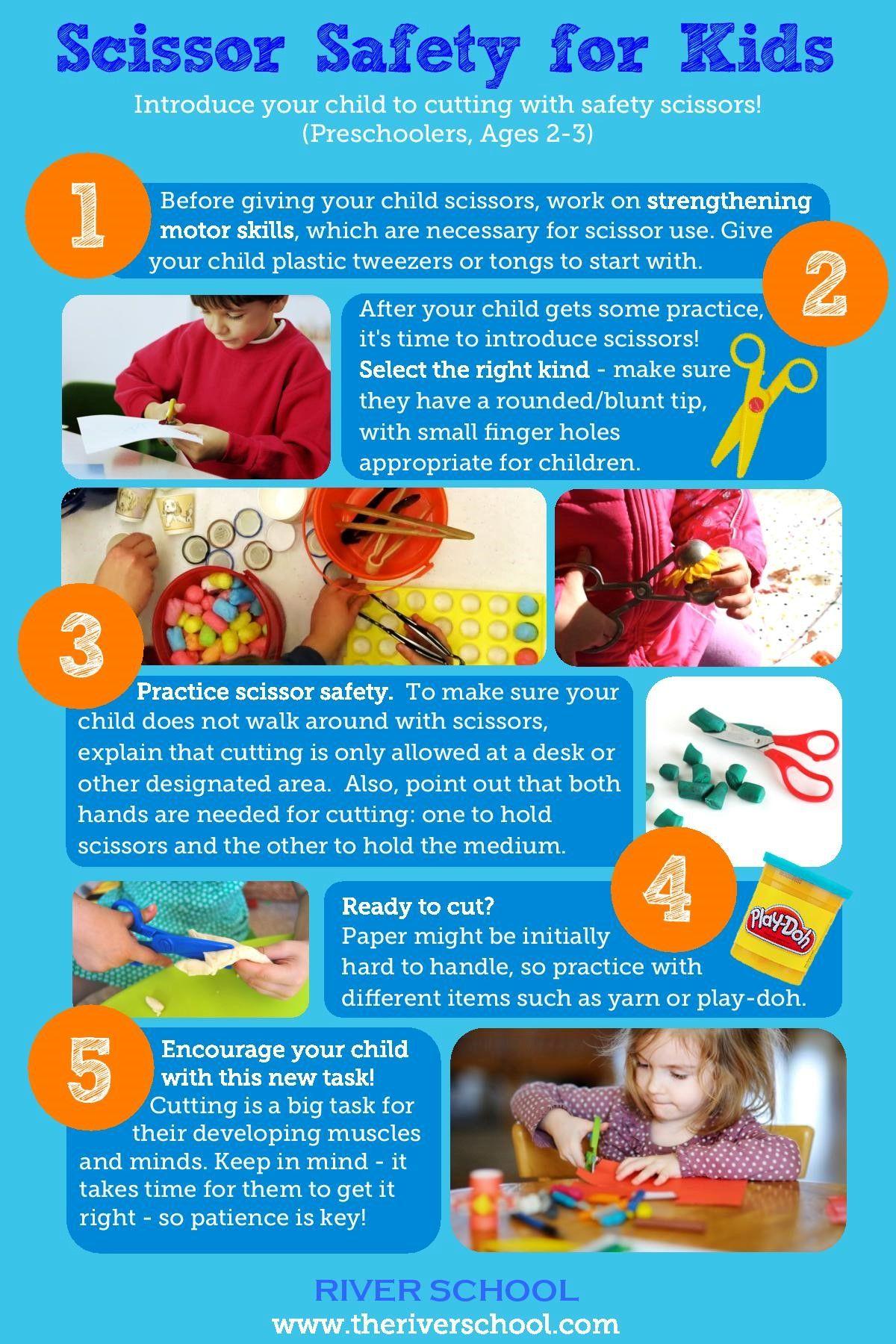 Children In A Pre School Settings Love To Use Scissors