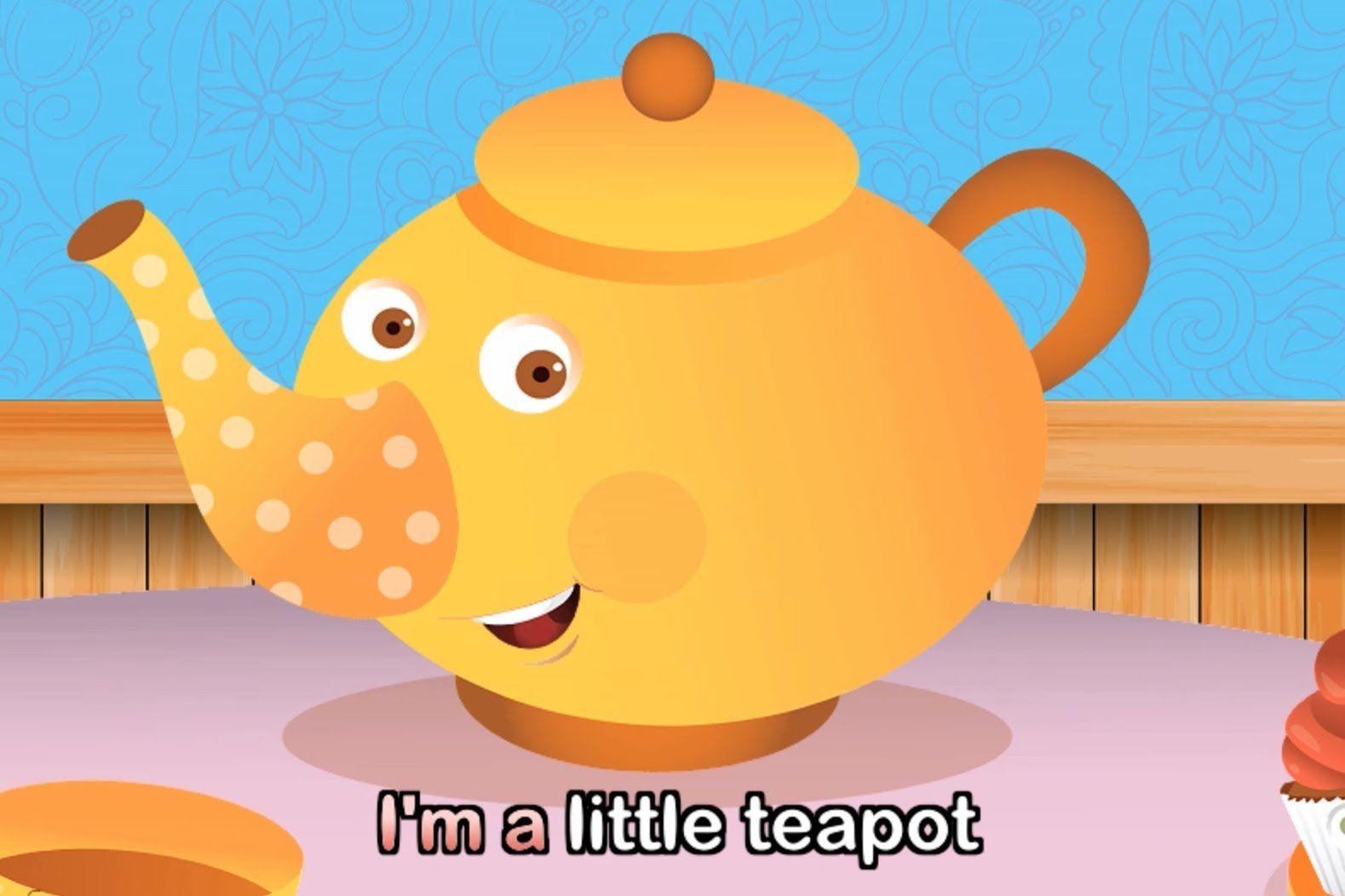 I M A Little Teapot With Lyrics