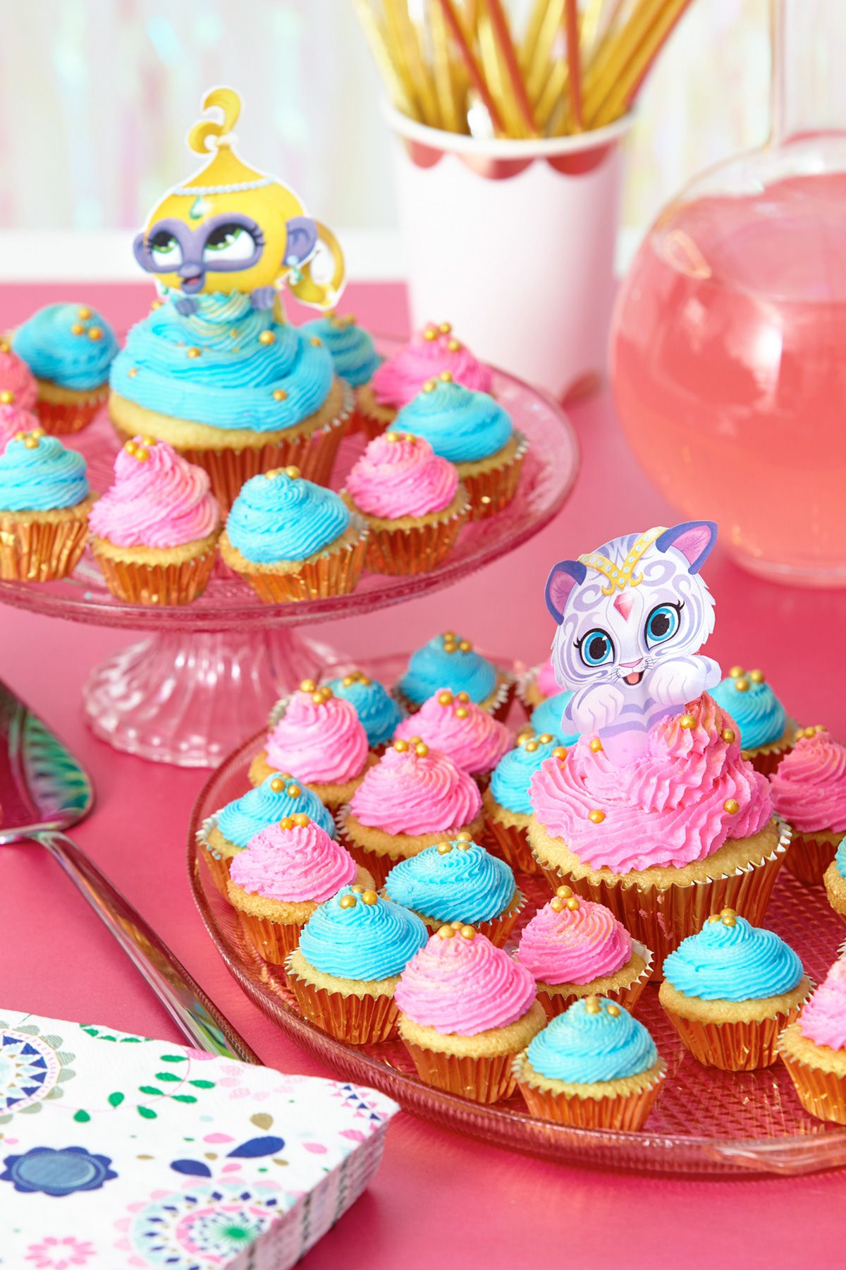 Shimmer And Shine Cupcake Toppers
