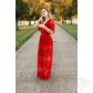 maddie lace embroidered dress boutique long sides