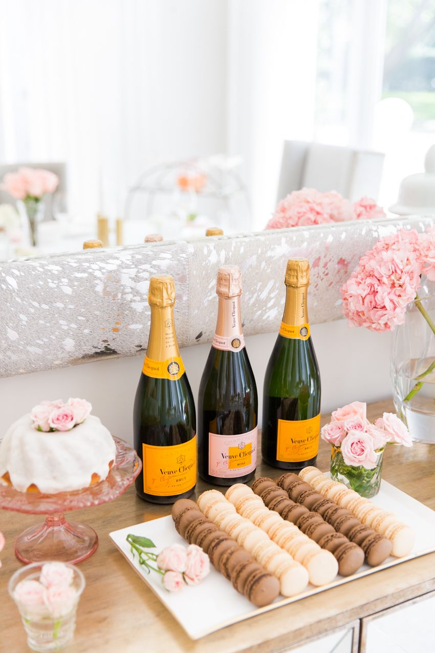 Champagne Amp Macaron Dessert Bar Fashionable Hostess