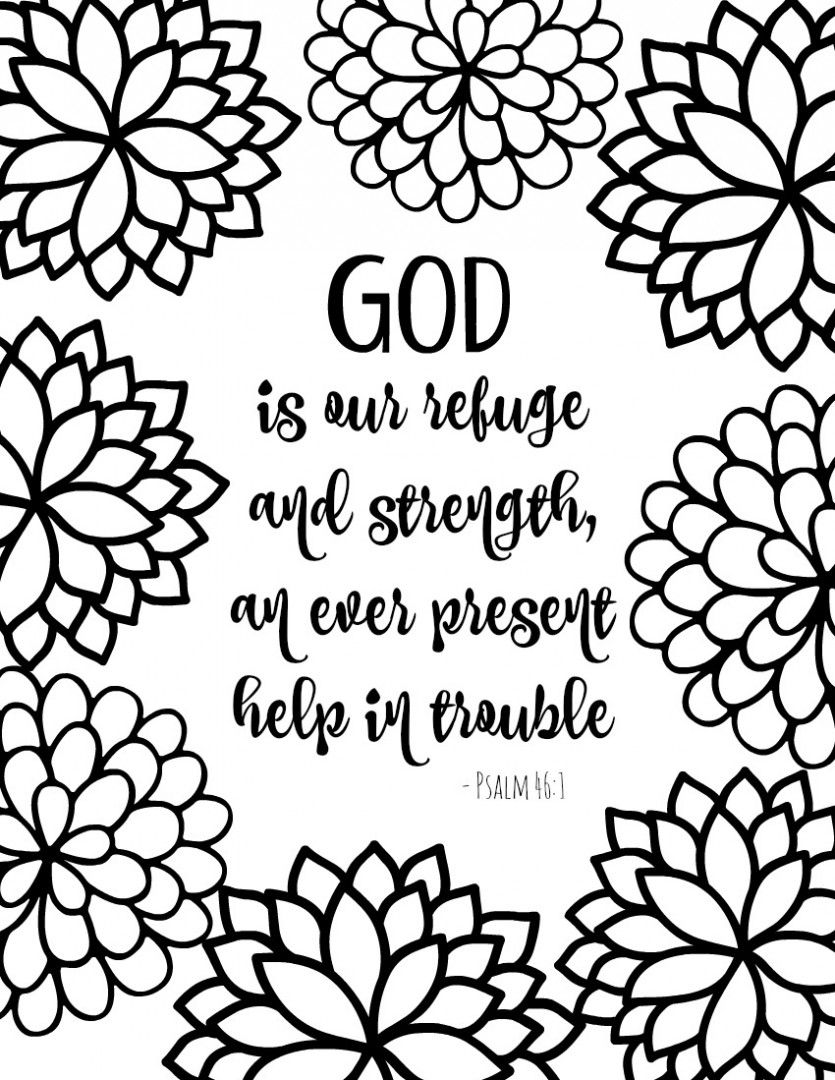 Colorings Co Bible Verses Coloring Pages For Adults