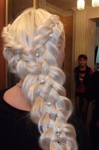 Coiffure Mariage Russe