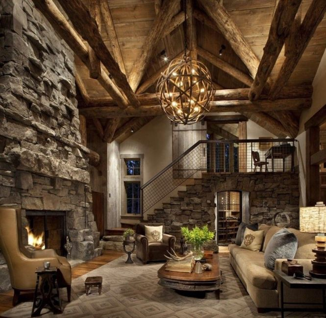Large Rustic Chandeliers