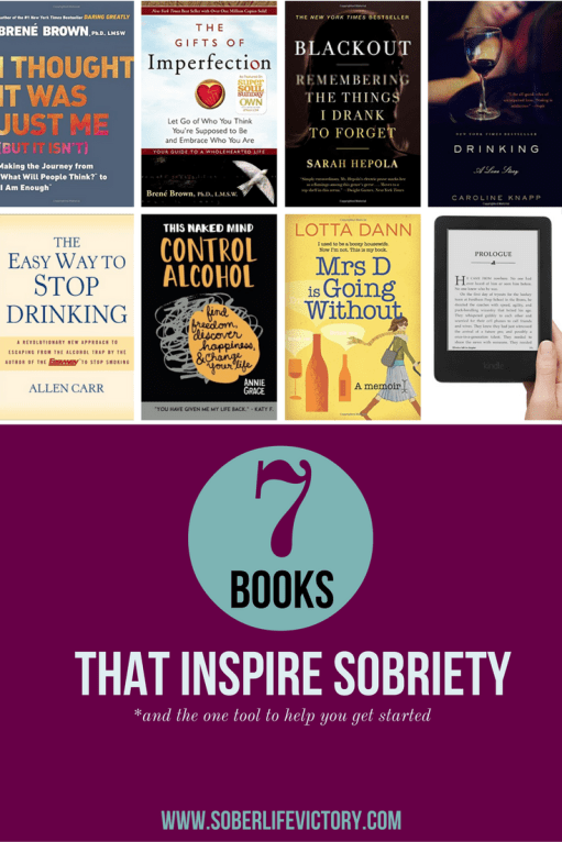 Seven Books That Inspired My Sobriety