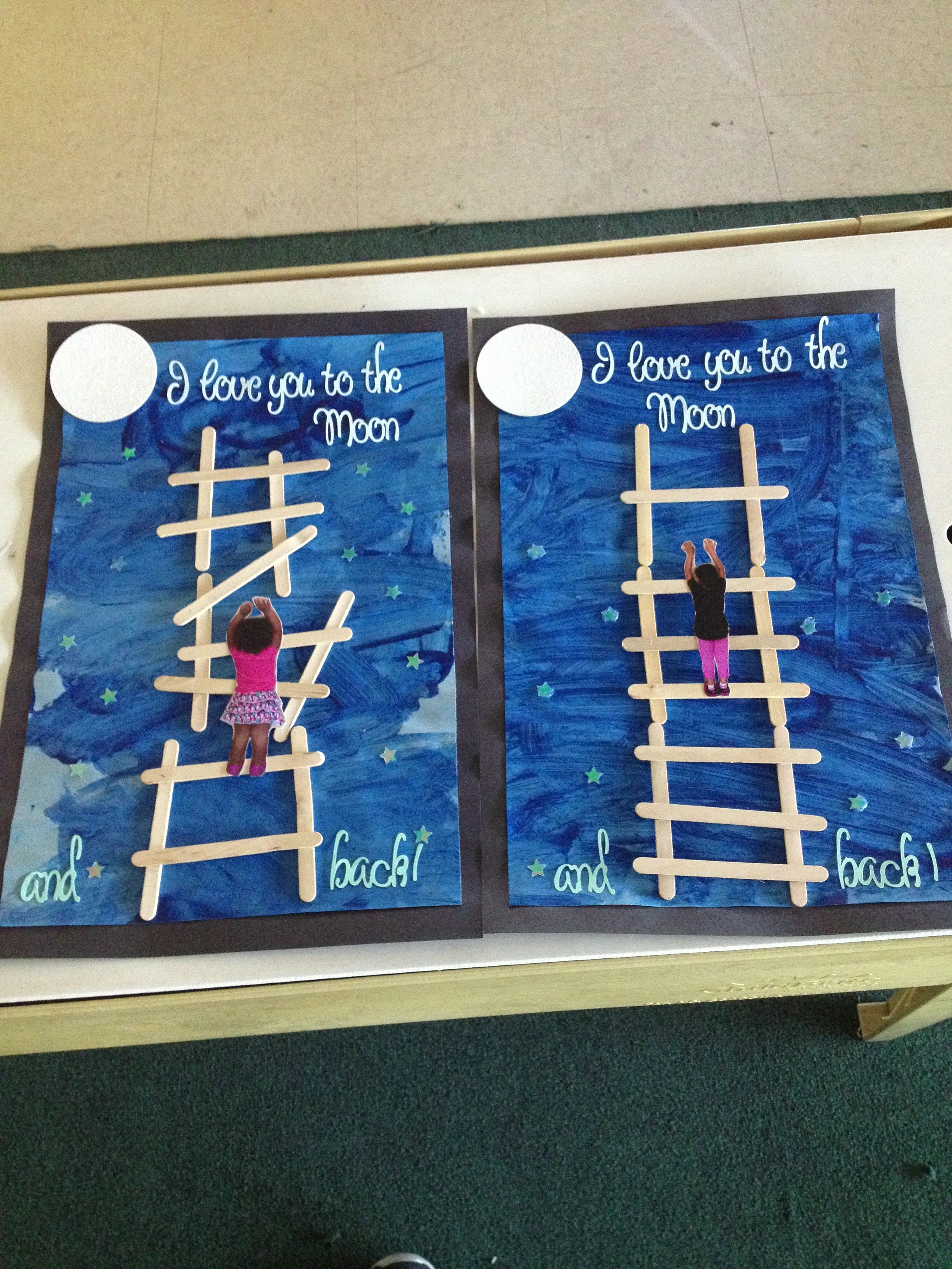 Mother S Day Project I Love You To The Moon And Back