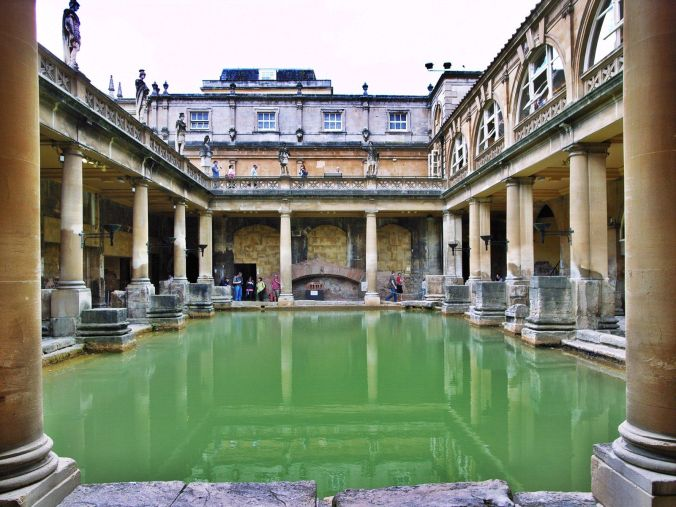 Image result for roman bath england