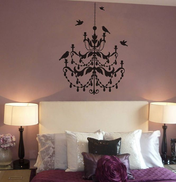 Chandelier Wall Sticker