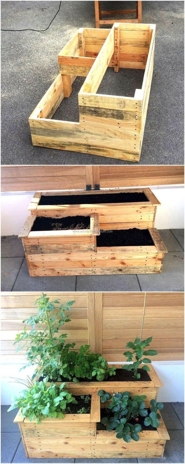Raised Garden Bed Ideas Repurposed wood Ideas for decorating