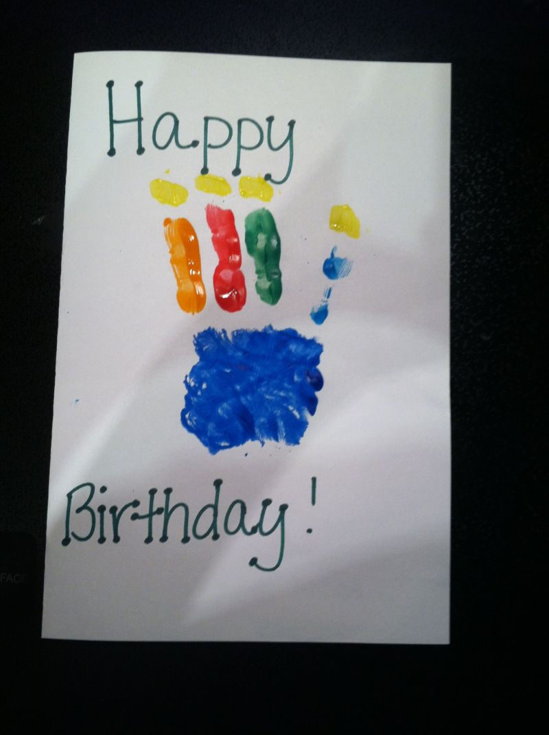 Birthday card for my dad classroom activities arts and