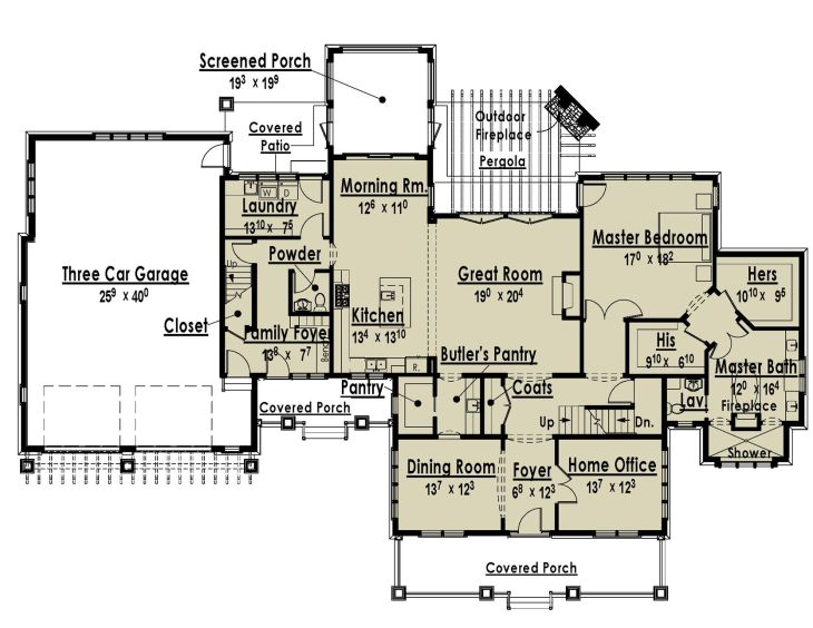 House Plans With Two Master Bedrooms On First Floor